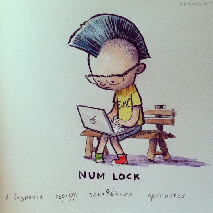 numlock