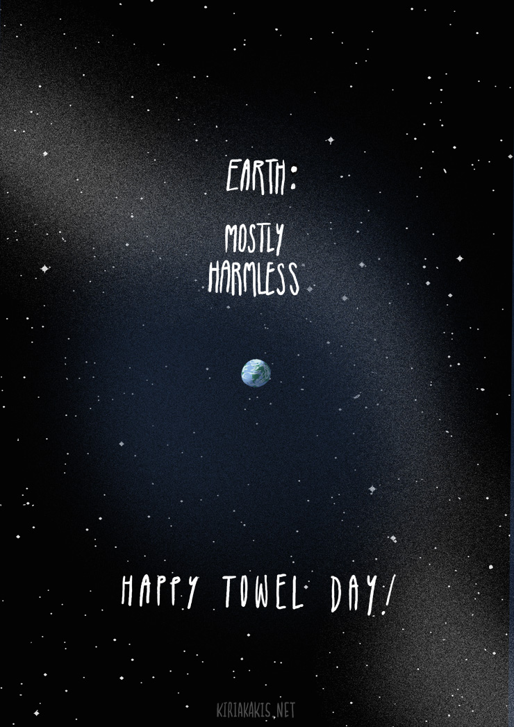 mostly harmless-Towel day