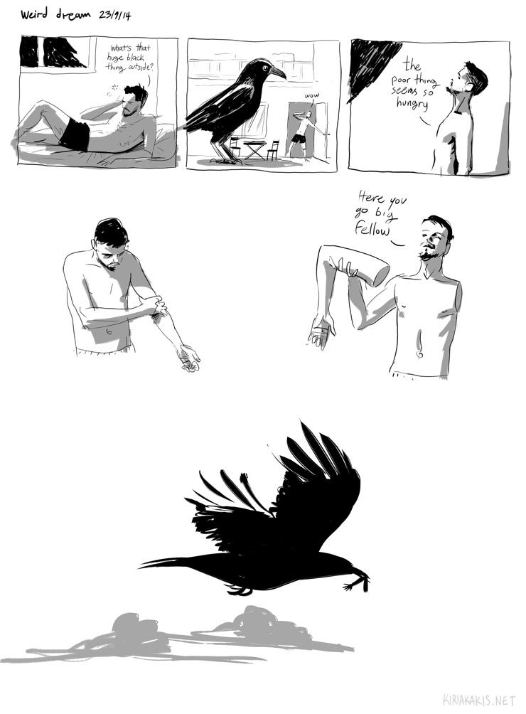 crow dream strip